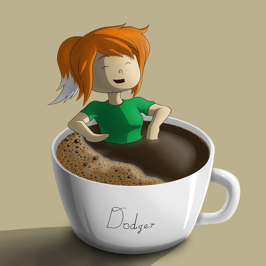 Coffee Time for Dodger! by AnaduKune