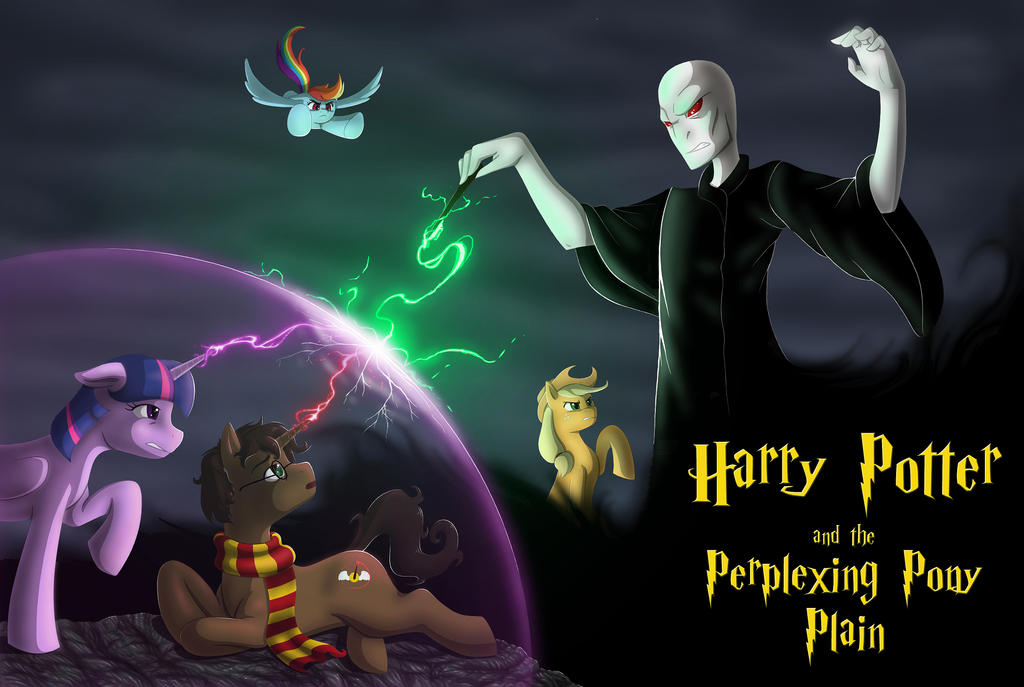 Harry Potter and the Perplexing Pony Plane by AnaduKune
