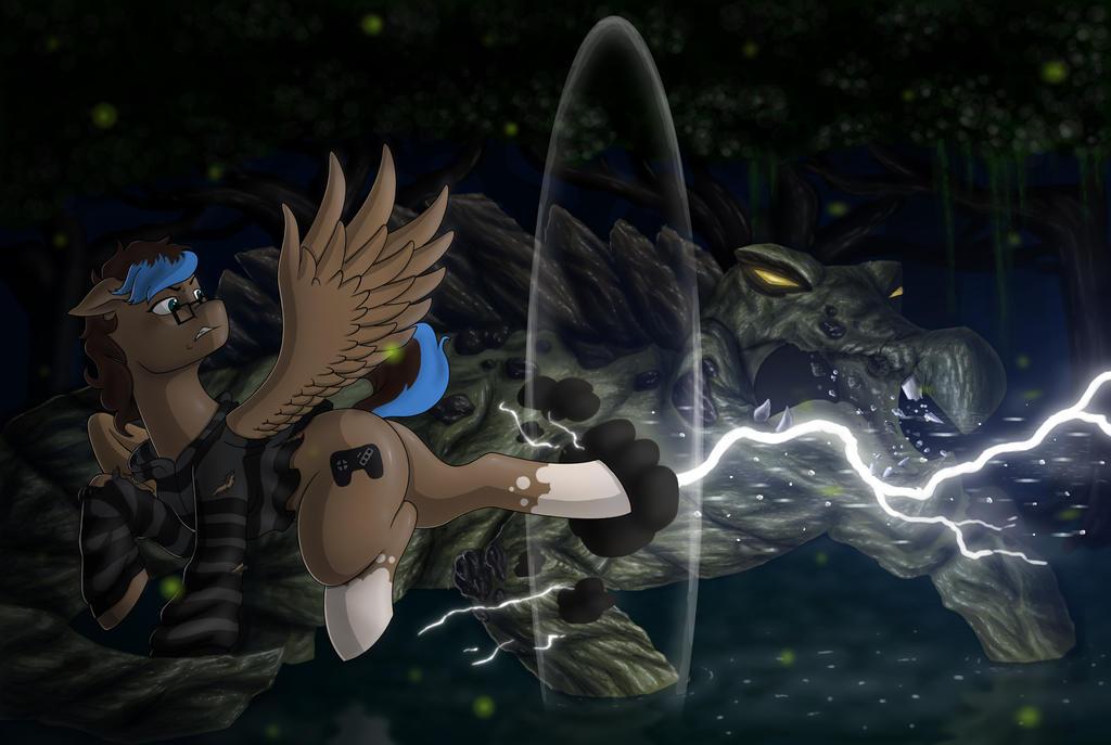 Thunder Strike by AnaduKune