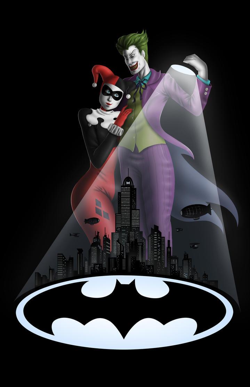 Joker and Harley by AnaduKune