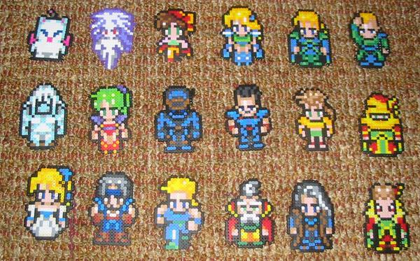 final fantasy 6 pixel art