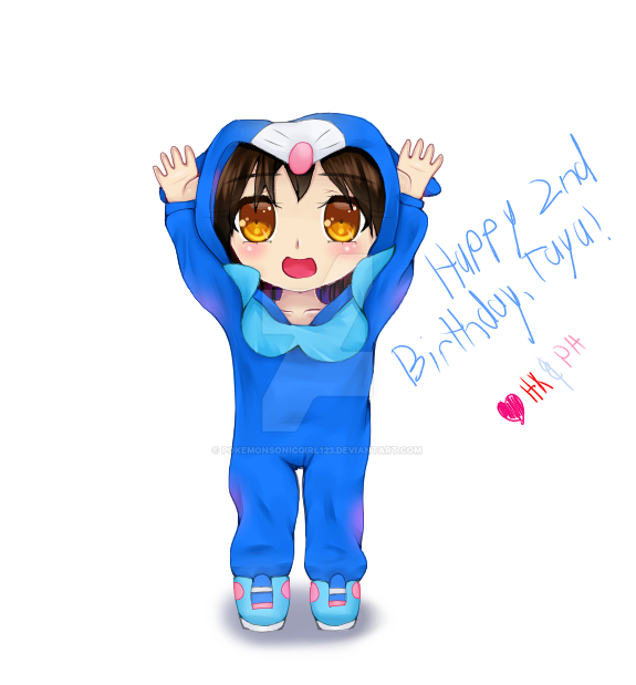 Happy 2nd Birthday, Taya! by pokemonsonicgirl123 on DeviantArt