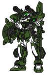 Hero Gundam Panzer Mode