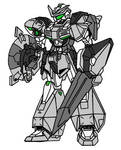 Hero Gundam Knight Armor