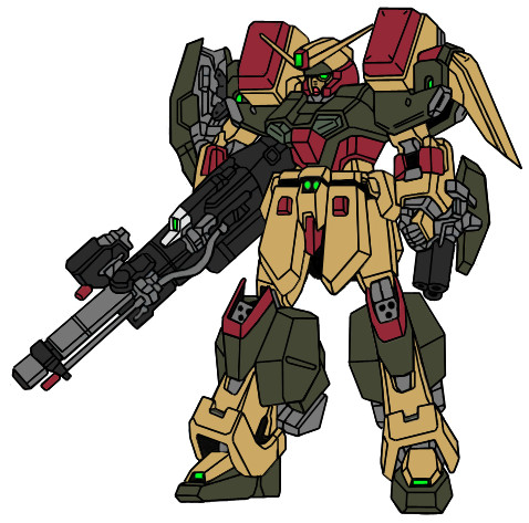 Buster Gundam Mk II by Nightwing03