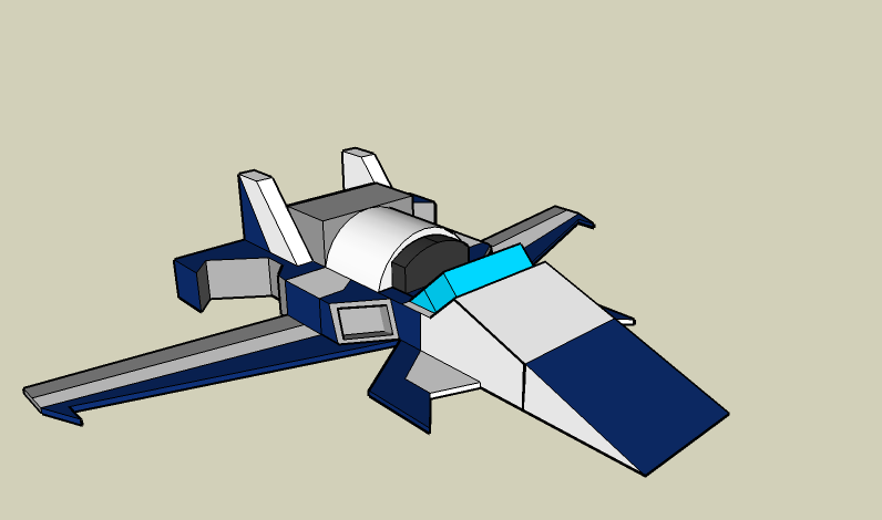 Sketchup - Hover Car
