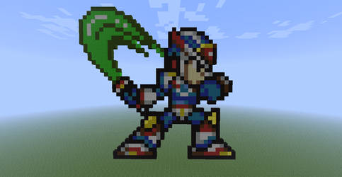 Megaman in Minecraft! by Nightwing03