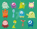 Cute Monsters (Complete) by samii69