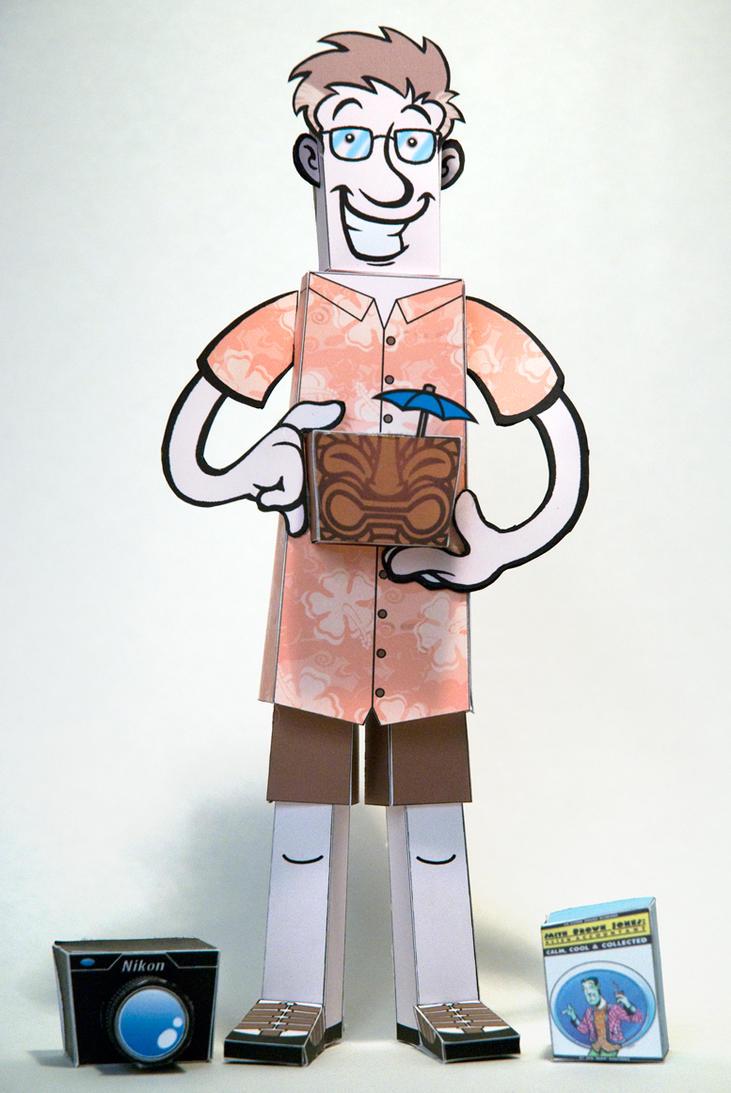 Portrait of the artist by JonBeanHastings