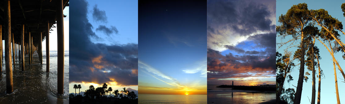 Five sunsets by JonBeanHastings