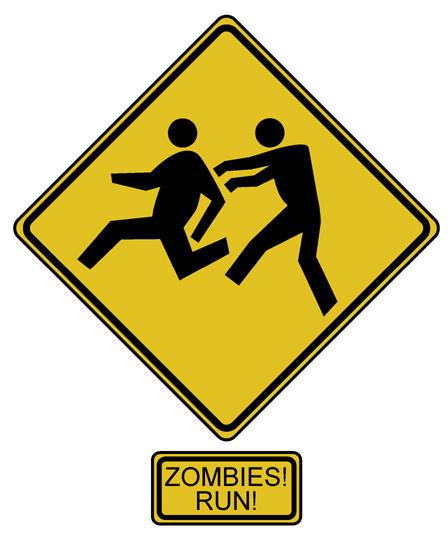 Zombies Run by JonBeanHastings