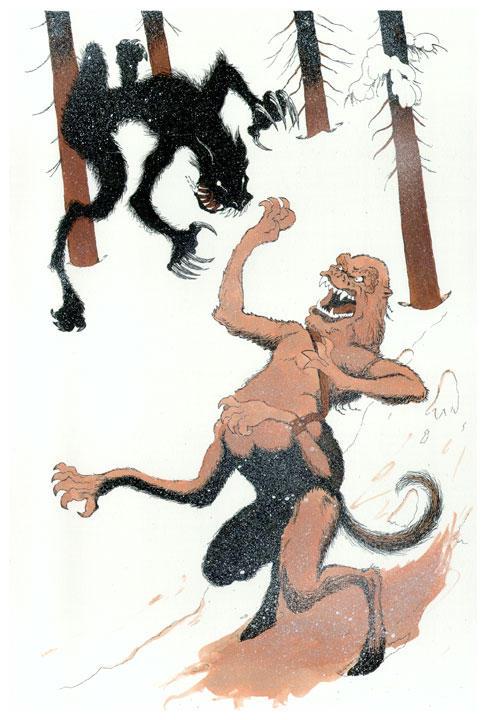 Putras vs the Beast by JonBeanHastings