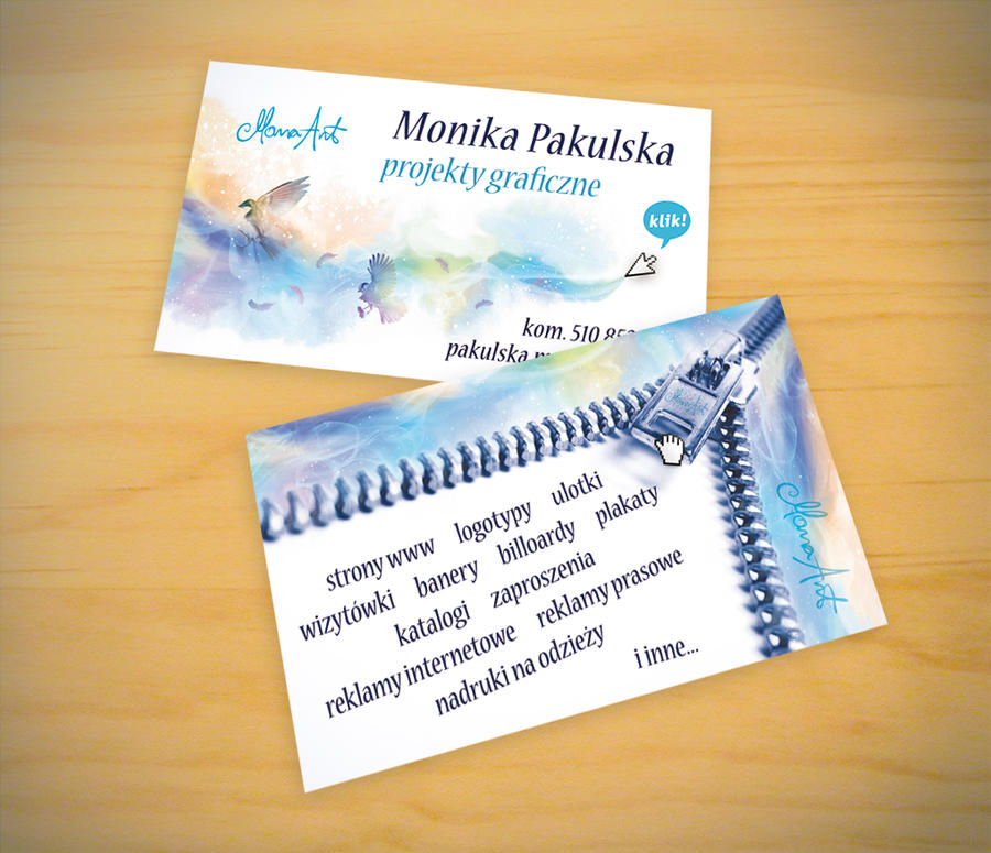my funny business card by MonaDesign on DeviantArt