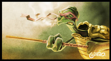 Donatello by allanced