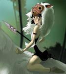 Mononoke Hime by allanced