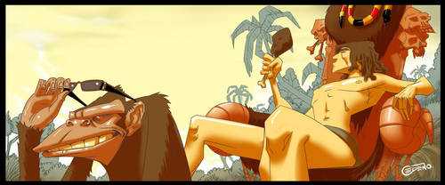 Tarzan by allanced