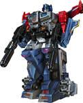 Powermaster Optimus Prime with Apex armor