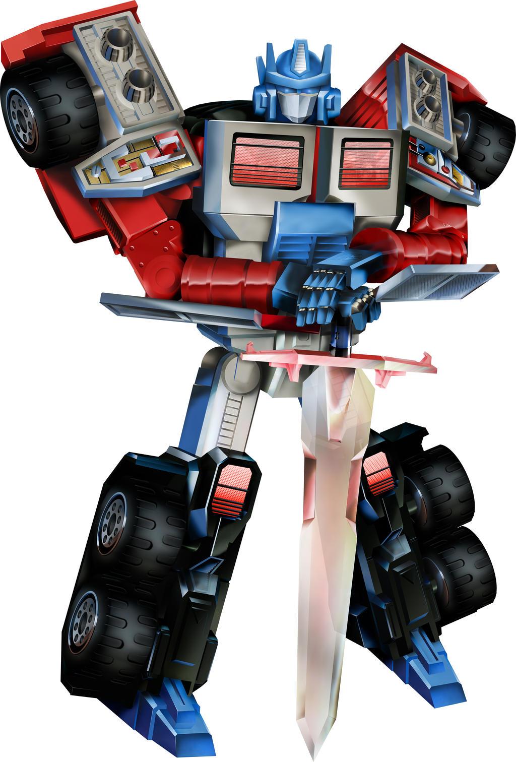 Laser Optimus Prime