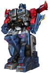 Powermaster Prime With Armor (Minus Guns)