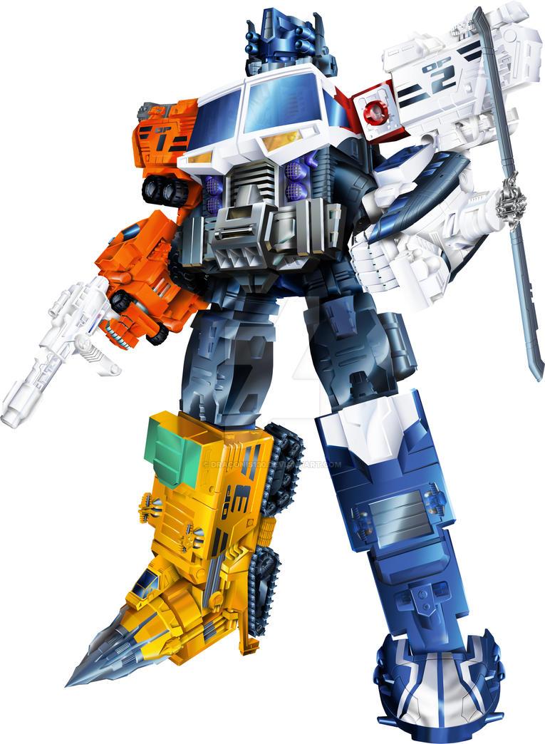 Energon Optimus Prime / Superlink Grand Convoy by ...