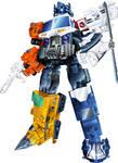 Energon Optimus Prime / Superlink Grand Convoy