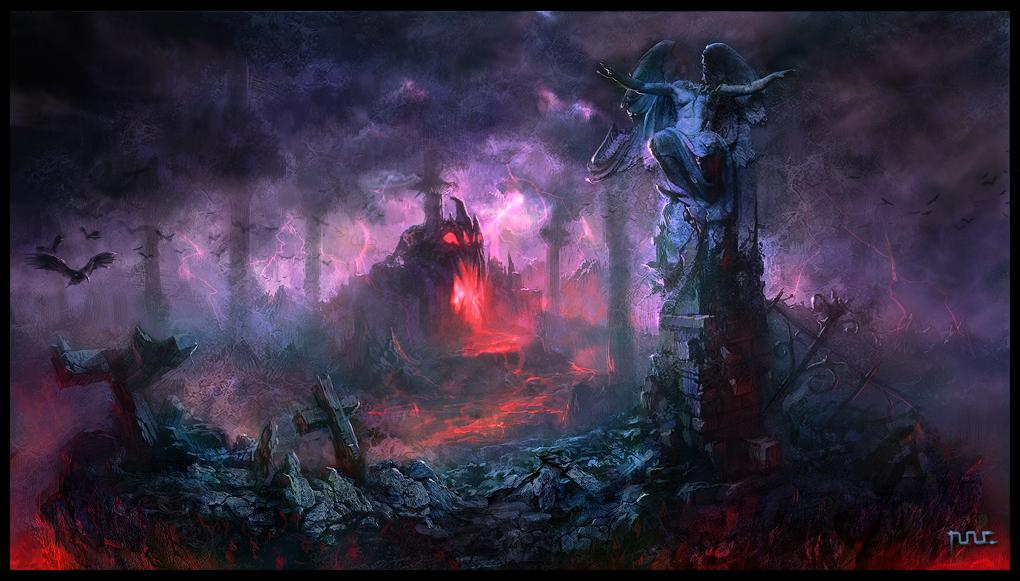 Evil side by moonworker1