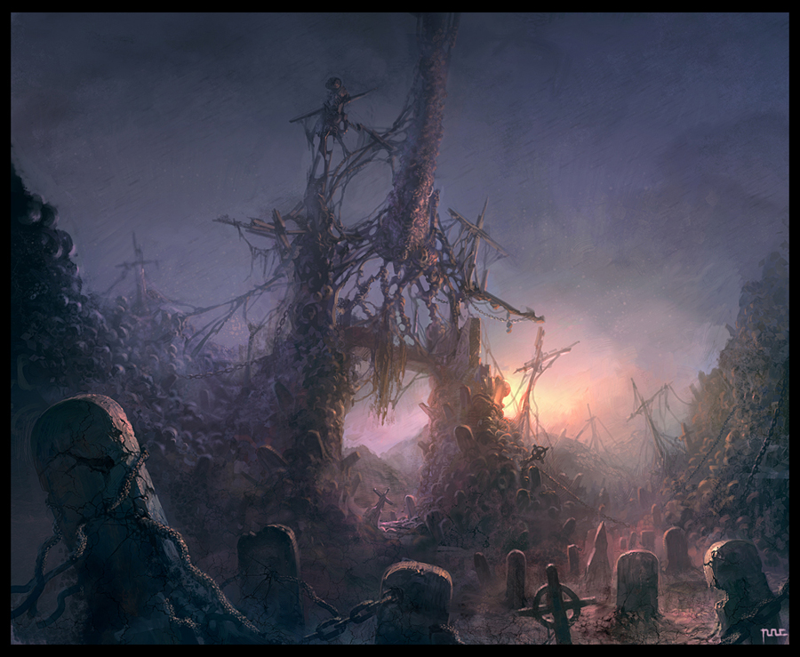 Deadmen's land by moonworker1
