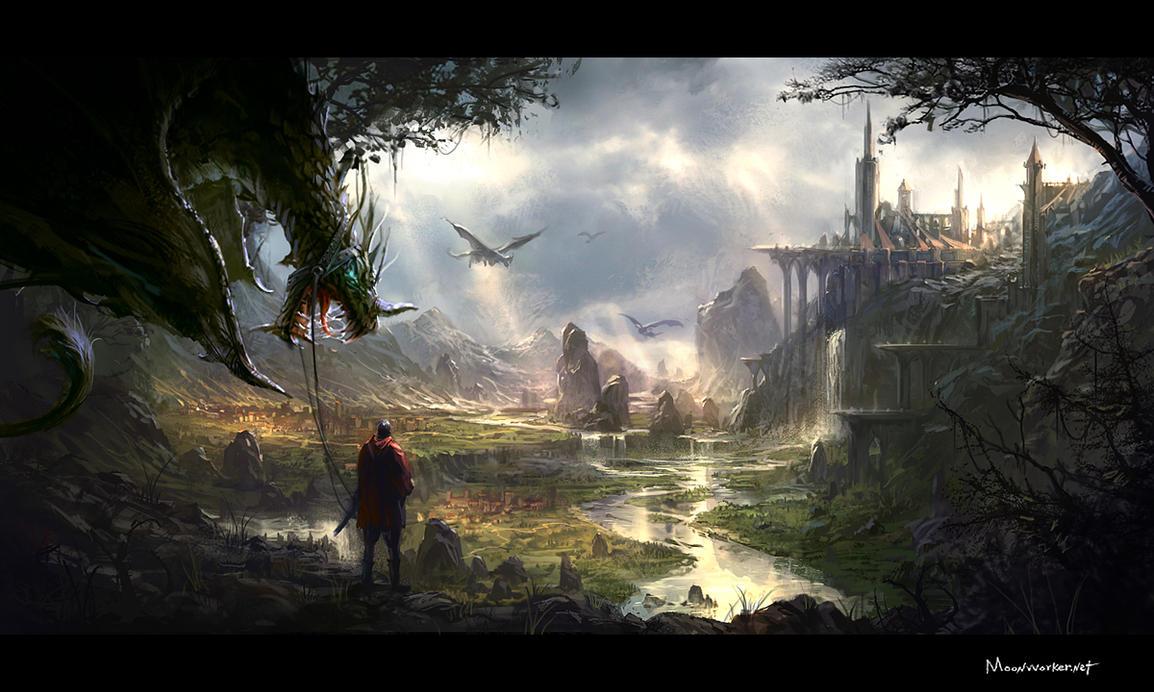 Dragon Riders by moonworker1