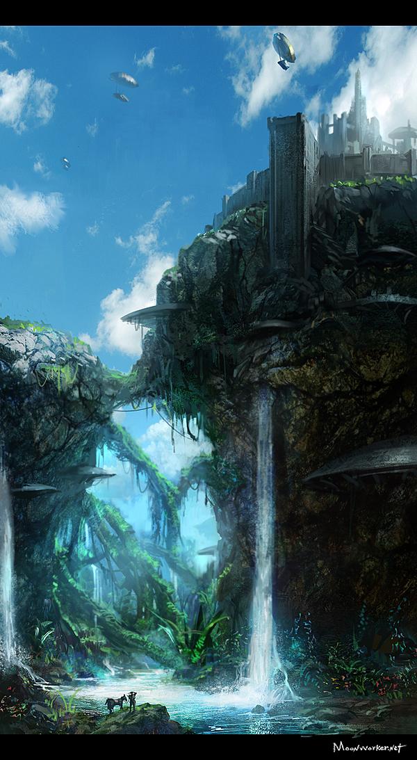 castle of scarp by moonworker1