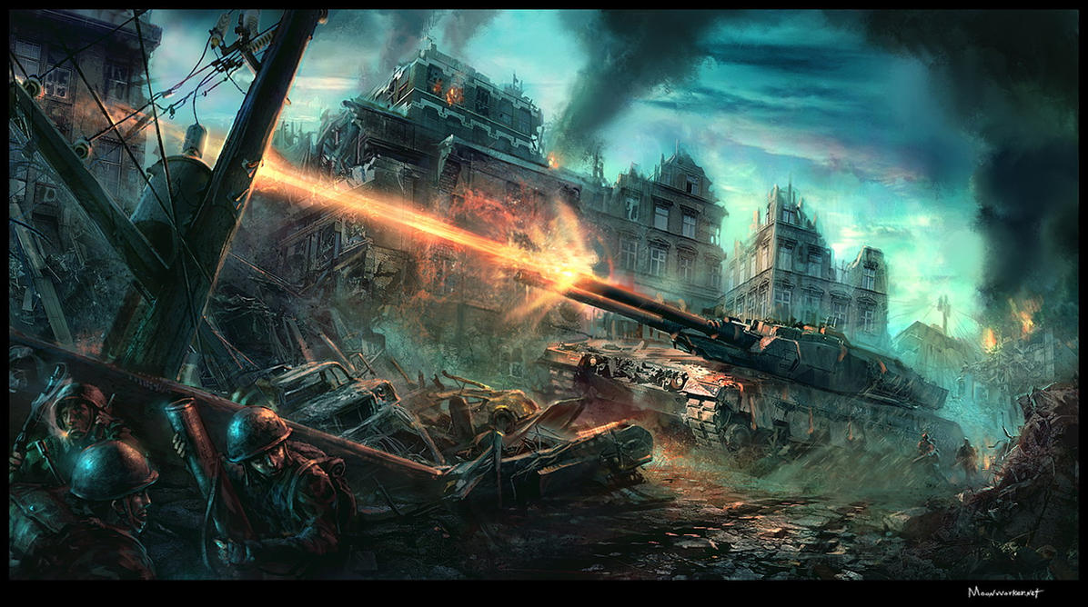 Battle Field by moonworker1