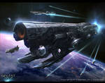 Galaxy Saga_Space ship Tlaloc_adv