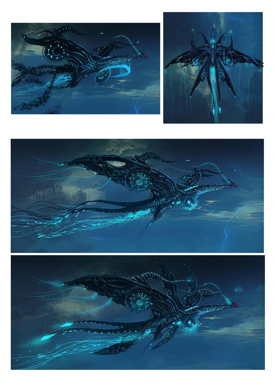Argon flying object-02 by moonworker1