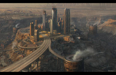 Industrial cityscape1