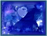 Blue and hige wallpaper
