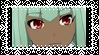 RWBY - Emerald Stamp by Diabolik-Annie
