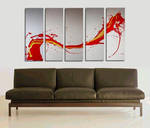 Red Dragon Painting 2006