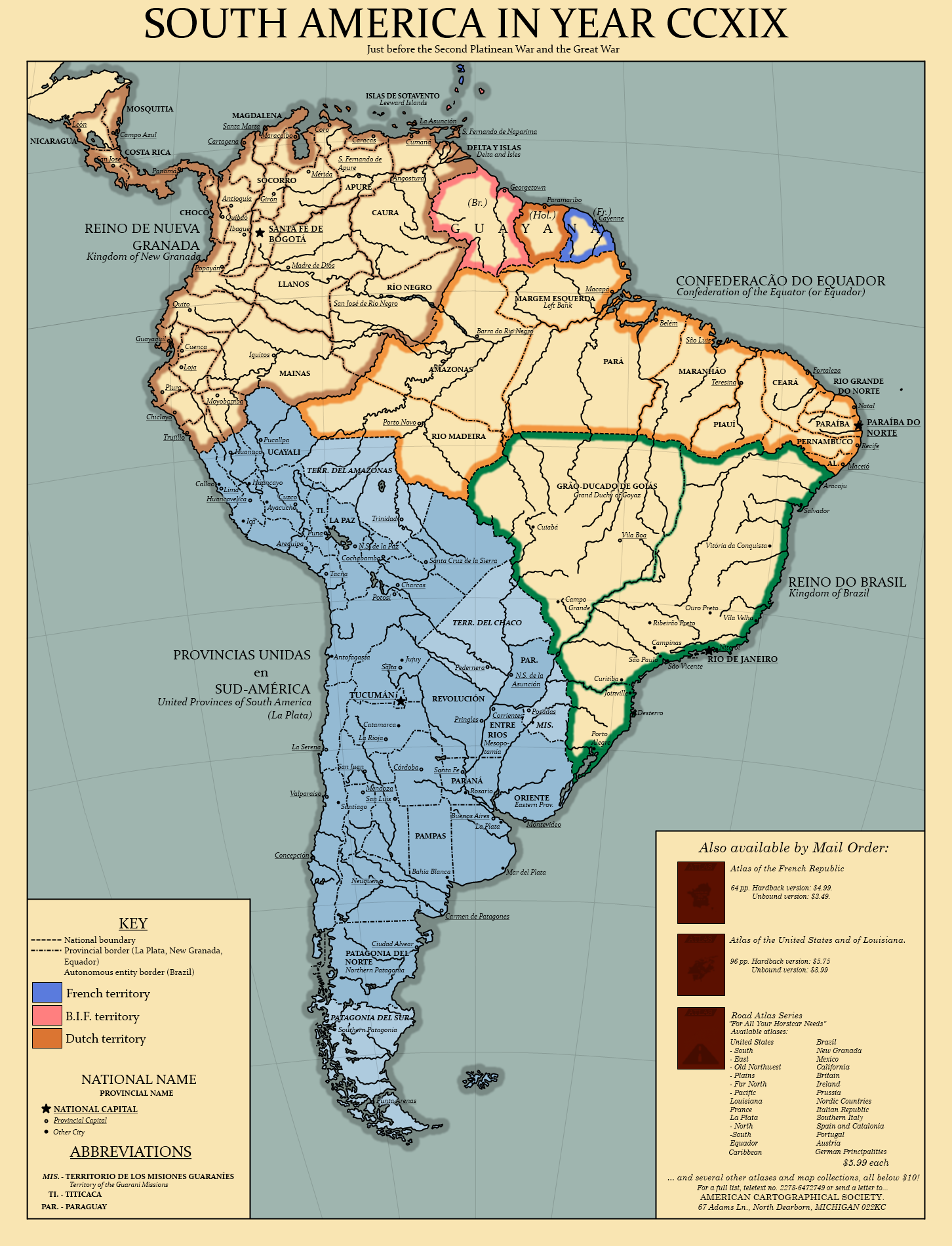 FRP World, South America by TheAresProject