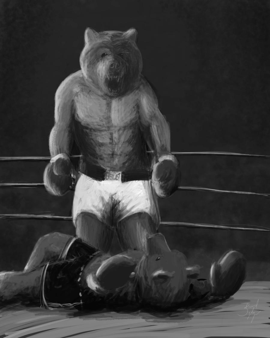 Image result for FIGHT BEAR