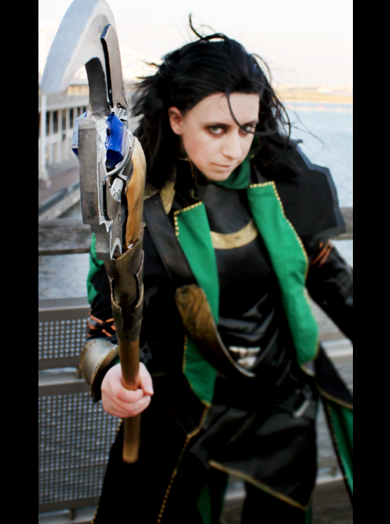 Loki- God of Mischief by CauldronOfMischief