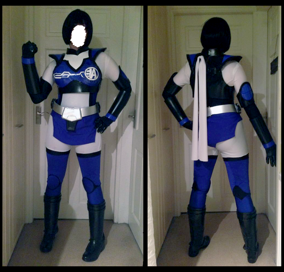 AkibaBlue Cosplay Progress ~ (complete) by CauldronOfMischief