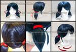 Miraculous Ladybug- Marinette / Ladybug Styled wig