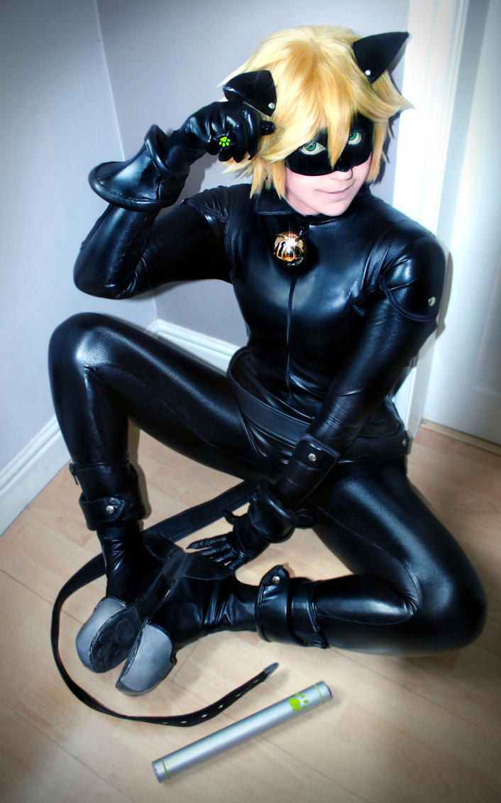 Chat Noir - Kitty Cat ~ by CauldronOfMischief
