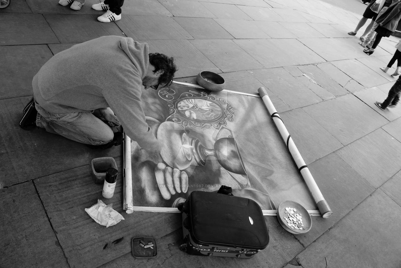 York street artist by Hyperborean1987