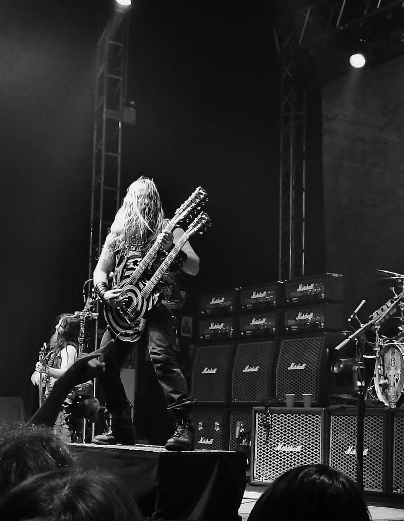 zakk wylde by Hyperborean1987
