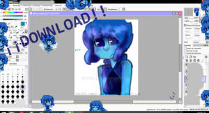 Lapislazuli Shimeji Download!! (Finally)