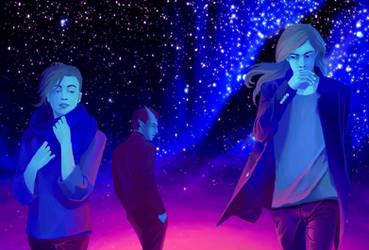 Cendres de l'Hiver - Night Time by Eldarianne
