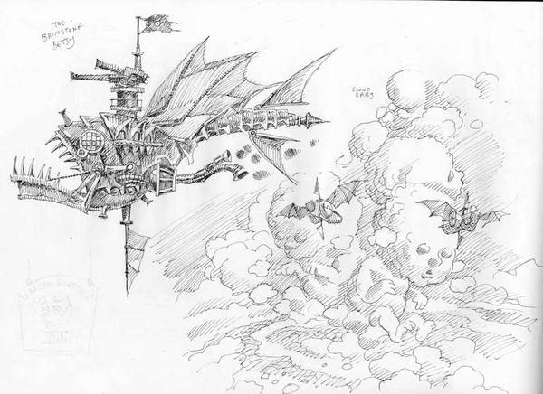 Larklight Sketchbook Part 2 by 3-hares