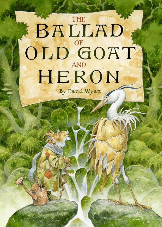 Old Goat and Heron Cover by 3-hares