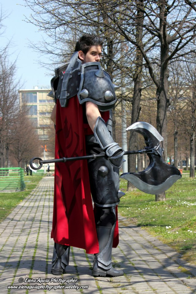 Darius Cosplay by SalomonPhoenixLeague Of Legends Cosplay Darius