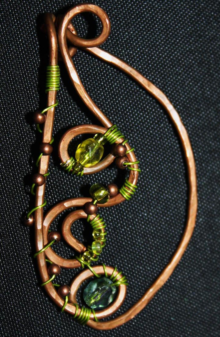 Green/Copper by MeFlyingFree